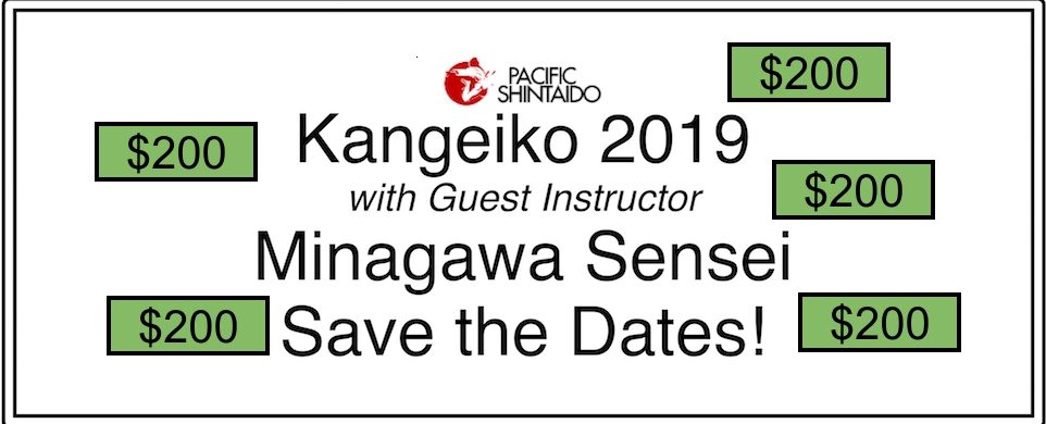Scholarships available for January 2019 Kangeiko