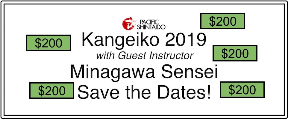 Scholarships available for January 2019 Kangeiko