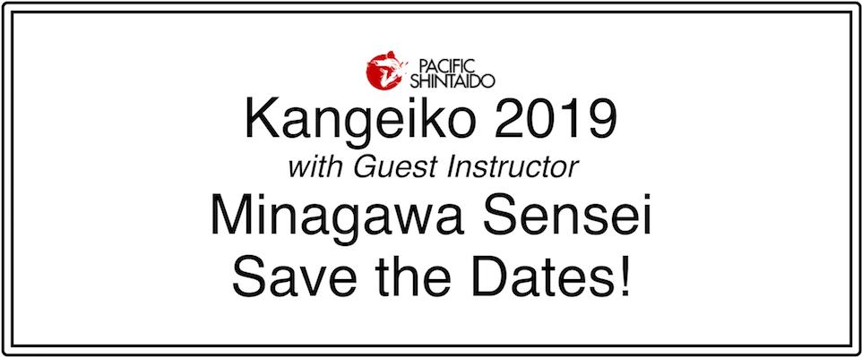 Pacific Shintaido Kangeiko 2019 — Save the Dates!