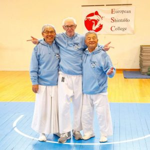 Three masters of Shintaido