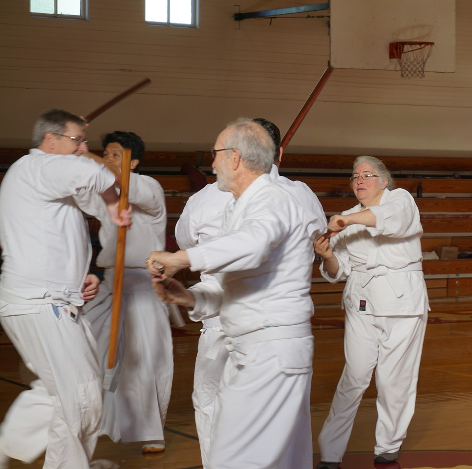 Group sword kumite