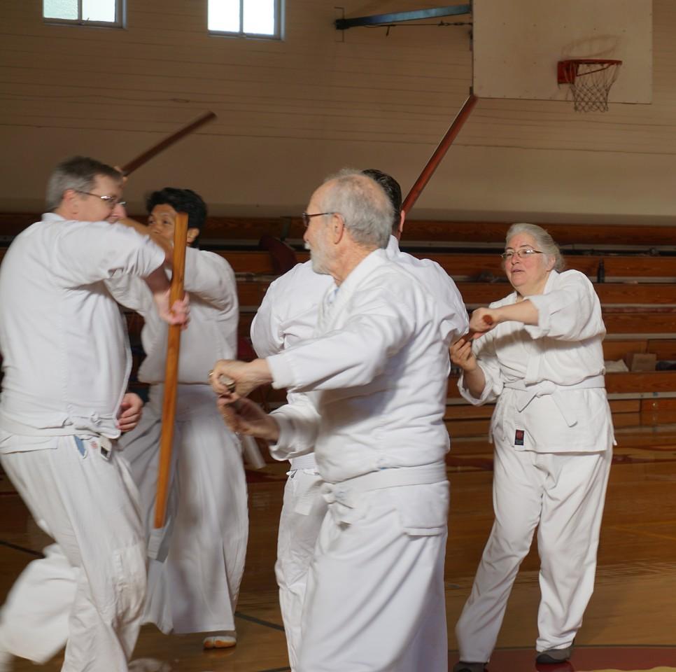 Group sword kumite