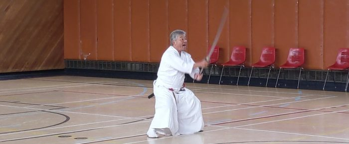 Chuden no Kata by Master Instructor H. F. Ito